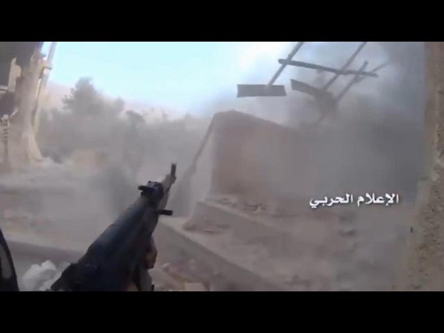 Жорсткі бої у місті, Забадан, Сирія