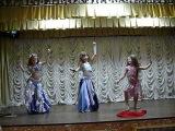 Шулешко Мария, Дьяконова Мария,Убийко Аринатанец с шальюстудия восточного танца IMPULS