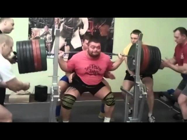 Евгений Ярымбаш Powerlifting Motivation