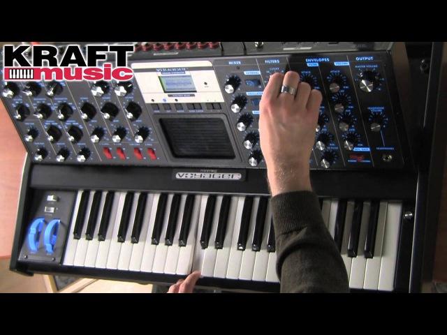 Kraft Music - Moog Minimoog Voyager Demo with Jake Widgeon