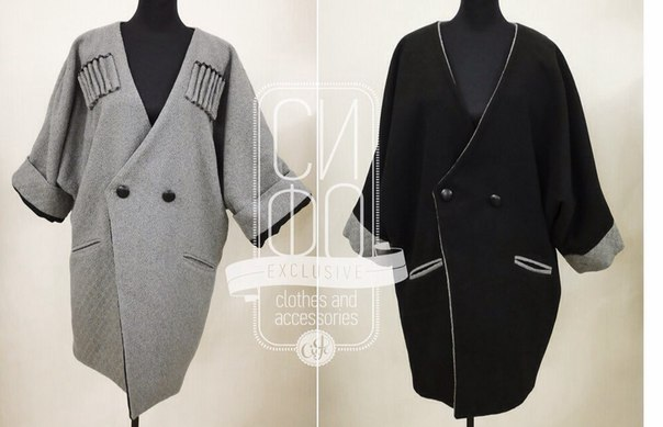 Двухстороннее пальто как сшить 39