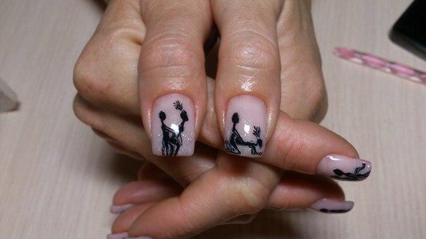 Камасутра на ногтях фото