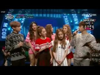150910 Red Velvet Dumb Dumb @ M Countdown Interview