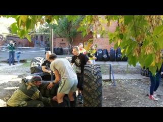 3 октября 2015 г. - Стань человеком-3 (шины)
