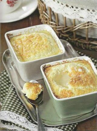 Фото рецепта: Классическое сырно-яичное суфле