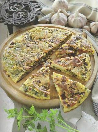 Фото рецепта: Испанская тортилья с чоризо