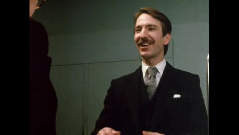 Алан Рикман в сериале`Люди Смайли`(Smiley's People. BBC televison drama) 2-я серия