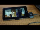 Приемник цифрового эфирного телевидения формата DVB T2 для андроид смартфона или планшета