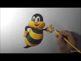 Drawing Tutorial: How to draw 3D picture from simple ...