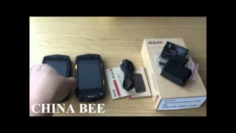 CHINA BEE Rugged Phone MANN ZUG 3 A18 Falcon MANN ZUG3 4.0 inch quadcore 1GB 4GB 8.0MP OS 4.3