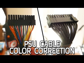 Power Supply Cable Color Correction GENIUS