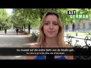 Bavarian German vs. Standard German (Easy German Pronunciation)