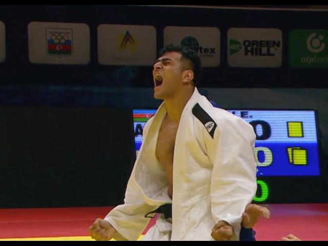 Elmar GASIMOV (AZE) -100kg Route to Final Baku GS 15