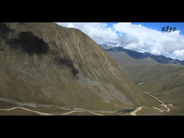 DJI Ace One On UAV Aerial Photography Tibet_Gongga Joku