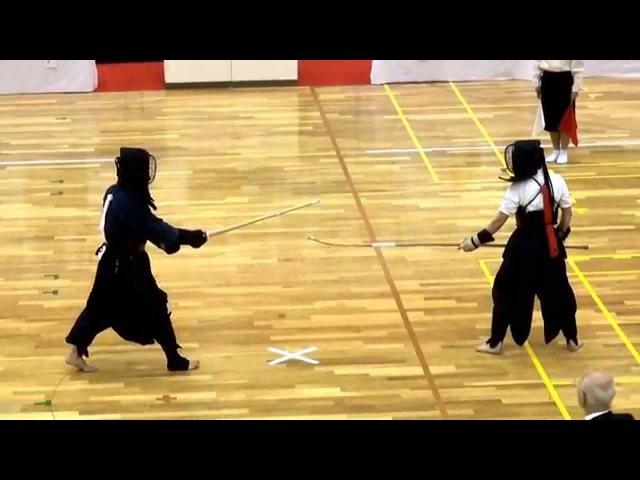 55th Todōfuken ishujiai Naginata vs. Kendō