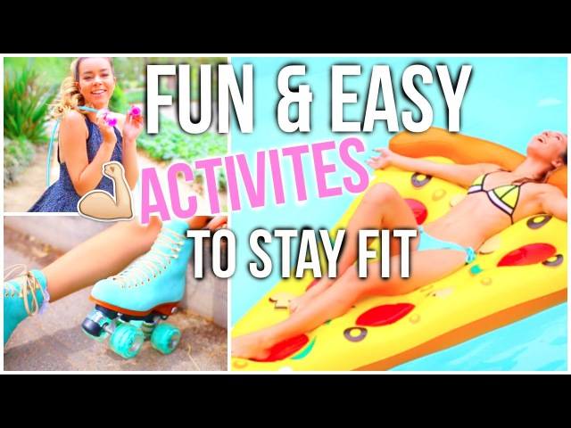 What To Do In Summer When You're Bored! Fun Easy Ways To Stay Fit!