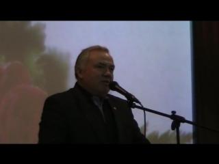 Ведущий Барашков В. и выступление директора Фазлеева М.Г.MOD