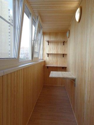 Остекление и отделка балконов и лоджий в Брянске на