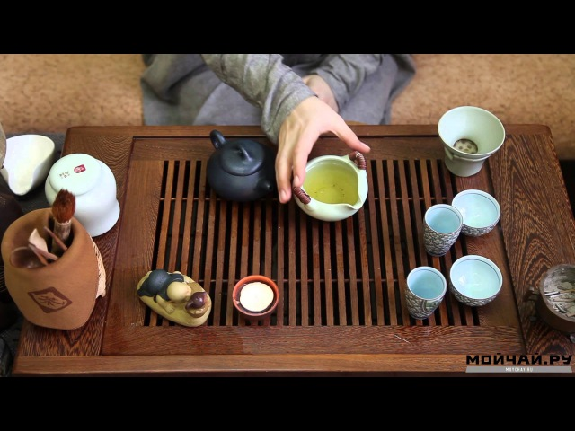 Гун Фу Ча (功夫茶) Китайская чайная церемония. Gong Fu Cha Ceremony. Chinese Tea Ceremony.