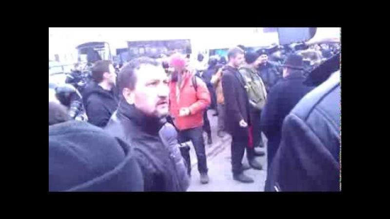 Русский десантник против бандеровца. Россия - Украина кризис 2014
