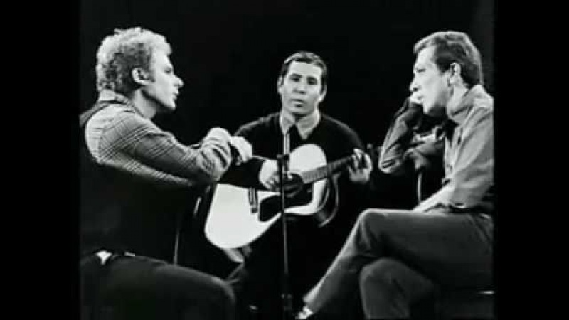 Simon Garfunkel, Andy Williams - Scarborough Fair/Canticle - Live