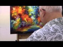 Leondi Afremov painting End of Winter - sped up video