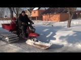 снегоход муравей-палочник покатушки