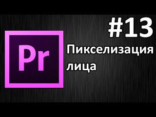 Adobe Premiere Pro, Урок 13 Пикселизация лица