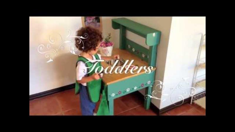 Монтессори Среда: Nido (малыши от 2 до 18 месяцев) и Toddlers (от 18 месяцев до 3 лет)