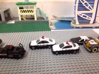 Lego with tomica movie: Police chase movie part 2