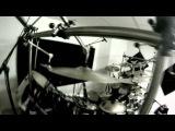 Netherbird - Studio Session summer 2012 - #1 - Drum kit view