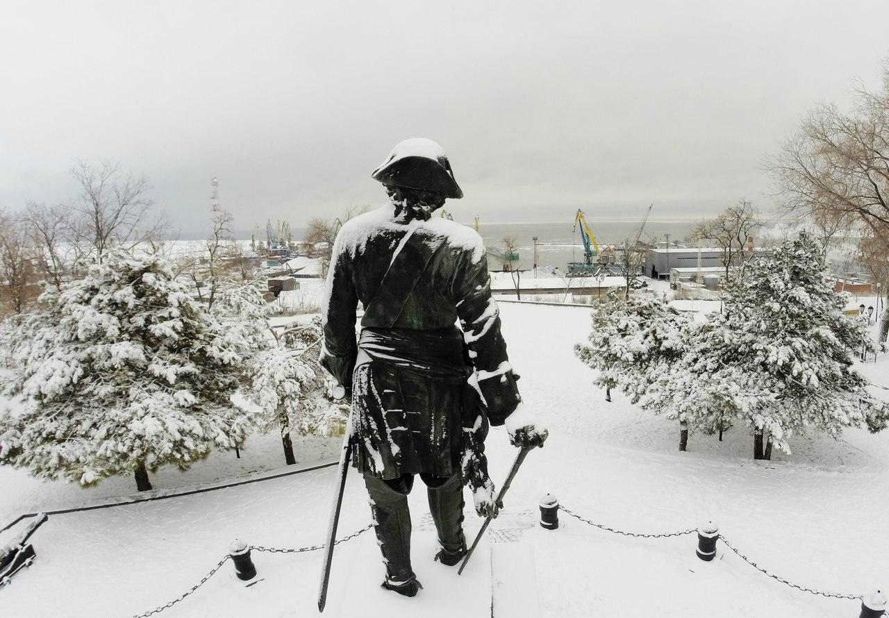 В Таганроге и Ростове похолодает до -20 °С, ожидается снегопад