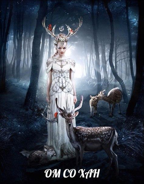 Олень — важный символический зверь в древних мировых культурах.