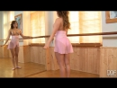 Redhead Ballerina Masturbates With Pink Dildo