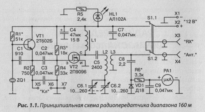 телеграфный ламповый передатчик