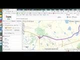 Прокдадка, сохранение, и ссылка на маршрут в Яндекс Картах