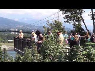 Знаменитый Стэнли-Парк в Ванкувере, Канада