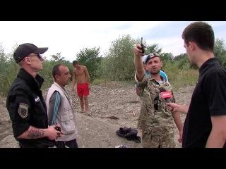 Из Прута снова незаконно вывозят гравий в Черновицкой области