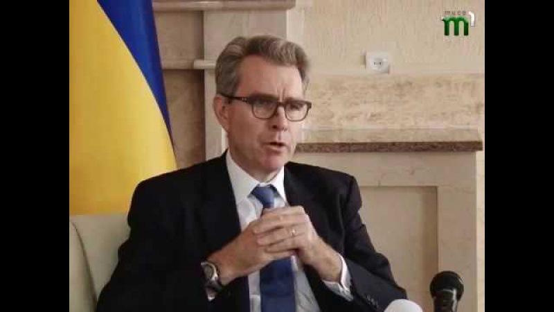 Надзвичайний і Повноважний Посол США в Україні Джефрі Пайєтт відвідав Закарпаття з офіційним візитом