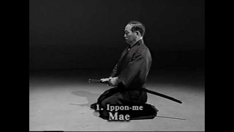 1. Iaido Kata Seitei 01 Ippon-me - Mae - High quality - www.thesamuraiworkshop.com