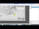 Оцифровка сканованої карти в Delta Digitals