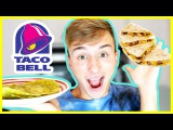 HOMEMADE TACO BELL IN 5 MINUTES | Lucas