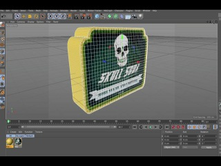 3D Logos From JPEG Images In Cinema 4D