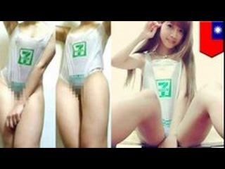 Новая тайваньская мода: купальники из пластиковых пакетов