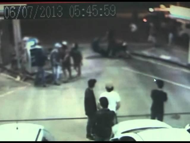 Band Cidade - Itajaí - Lutadores de MMA se envolvem em briga em posto de gasolina no litoral Norte