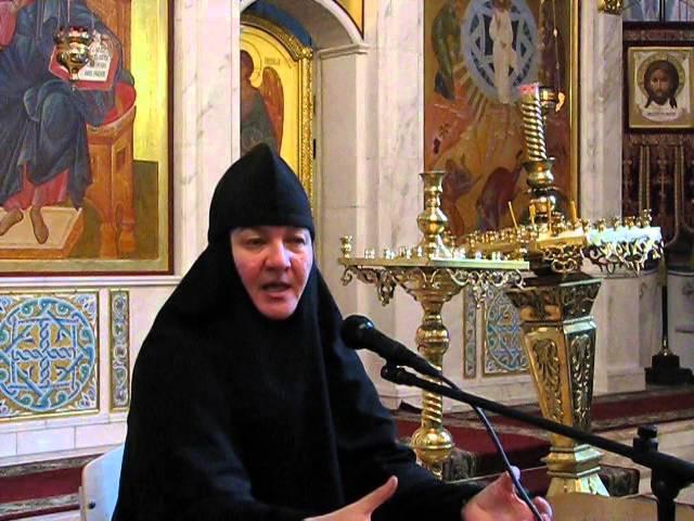 Беседа монахини Нины Крыгиной о воспитании детей