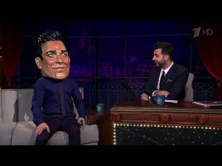 Вечерний Ургант. Робби Уильямс/Robbie Williams в гостях у Ивана(10.04.2015)