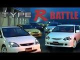 ENG CC Type R Battle - DC2, DC5, EP3, EK9, S2000, Silvia S15, Audi S3 Tsukuba 2002