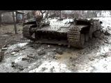 Последствия боев в Углегорске. Февраль 2015