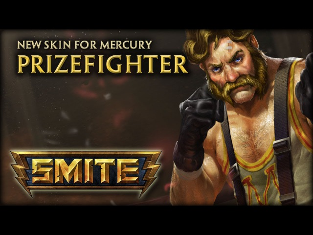 New Mercury Skin: Prizefighter
